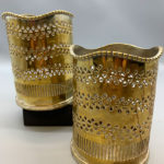 Decorative Gold Vases
